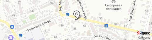 L-стиль на карте Кисловодска