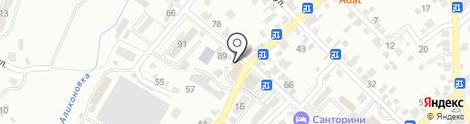 Ереван на карте Кисловодска