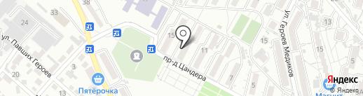 Почтовое отделение №39 на карте Кисловодска