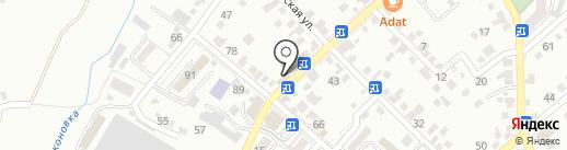 Манго-fresh на карте Кисловодска
