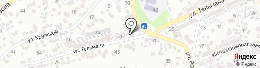 Кисловодский водоканал на карте Кисловодска