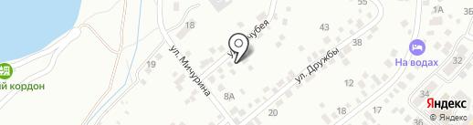 Автоэкспертиза КМВ на карте Кисловодска