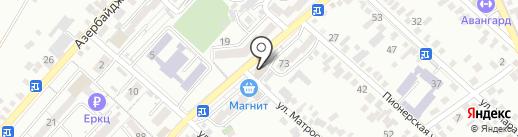 Сбербанк России на карте Кисловодска