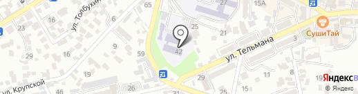 Кисловодский институт экономики и права на карте Кисловодска