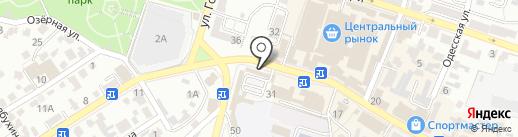 Посуда Мира на карте Кисловодска