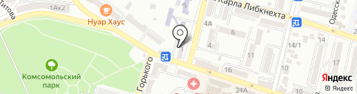 Наири на карте Кисловодска
