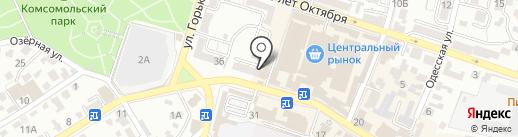 ЭлектроМир на карте Кисловодска