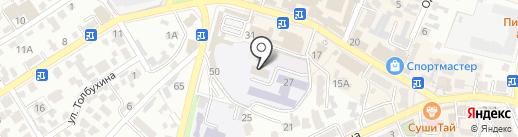 Профсоюз работников народного образования и науки на карте Кисловодска