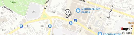 Кай и Герда на карте Кисловодска