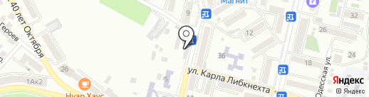 Карс на карте Кисловодска