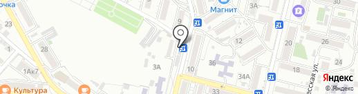Парикмахерская на ул. Героев Медиков на карте Кисловодска