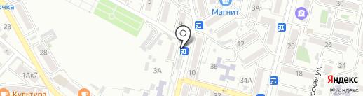 Зумрад на карте Кисловодска