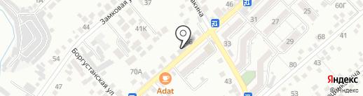 Магазин автоэмалей на карте Кисловодска