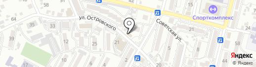 Овоще-маркет на карте Кисловодска