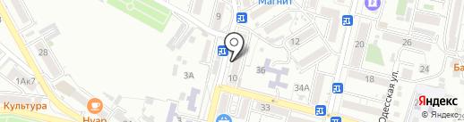 Магазин свежего мяса на карте Кисловодска