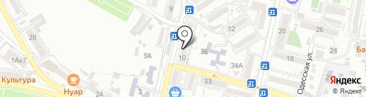 Мясной склад на карте Кисловодска