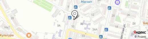 Светоч на карте Кисловодска