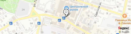 Банкомат, Сбербанк, ПАО на карте Кисловодска