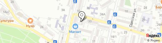 Имидж на карте Кисловодска