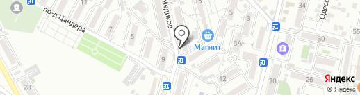 Дом быта на карте Кисловодска