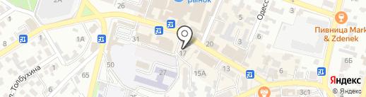 Grandys на карте Кисловодска