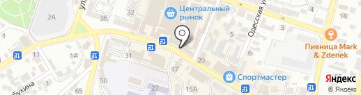 585 на карте Кисловодска