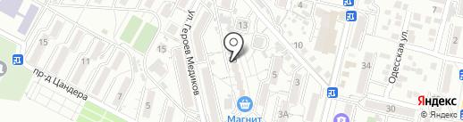 НАШ на карте Кисловодска