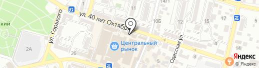 АВГУСТ на карте Кисловодска