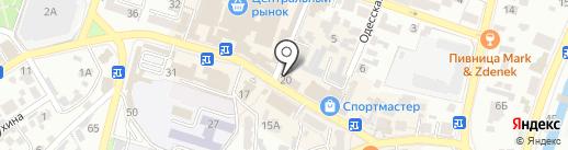 АртЛайф на карте Кисловодска