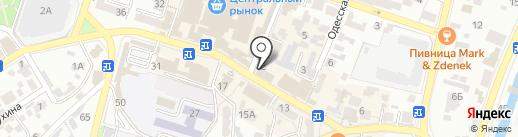 Диалог на карте Кисловодска