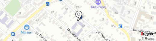 Кисловодский медицинский колледж на карте Кисловодска