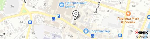 Шанель на карте Кисловодска