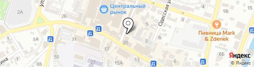 Первый РКЦ на карте Кисловодска
