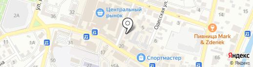 Кисловодскэлектросбыт на карте Кисловодска