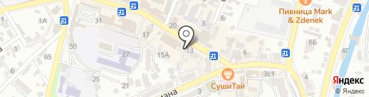 Секонд-хенд на карте Кисловодска