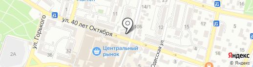 Сиф на карте Кисловодска