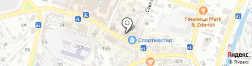 Санги Стиль на карте Кисловодска