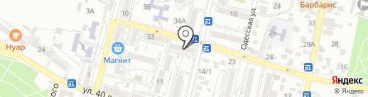 КМВ-Реал на карте Кисловодска