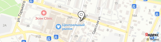 Polaris на карте Кисловодска