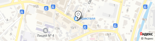 Теремок на карте Кисловодска