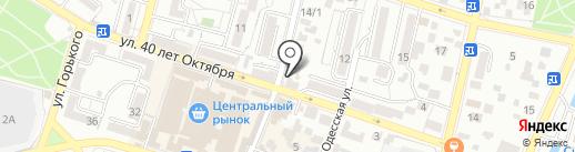 Восток на карте Кисловодска