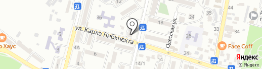 Интертек на карте Кисловодска