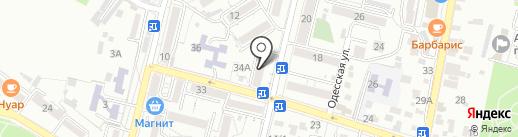 Агентство судебных экспертиз на карте Кисловодска