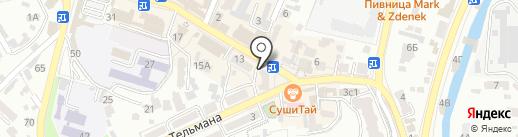 Mozart на карте Кисловодска