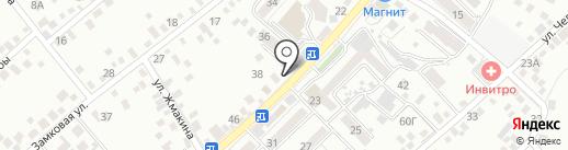 Магазин птицы на карте Кисловодска