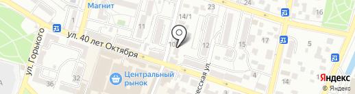 Киранц на карте Кисловодска