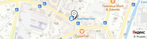 Лимпопо на карте Кисловодска