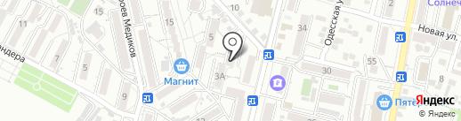 Участковый пункт полиции №1 на карте Кисловодска