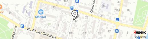 Инструменты на карте Кисловодска