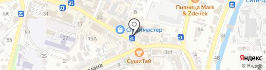 Точка J.n.s. на карте Кисловодска